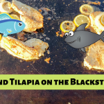 Shark and Tilapia on the Blackstone Griddle