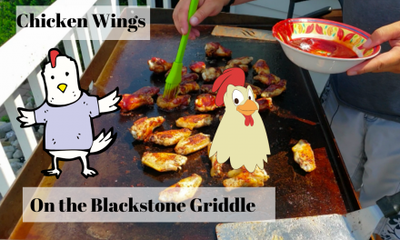 Chicken Wings on the Blackstone Griddle
