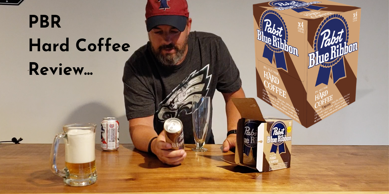 PBR Hard Coffee review / taste test