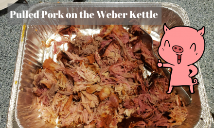 Pulled Pork on the Weber Kettle