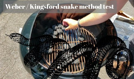 Snake Method on the 22″ Weber Kettle