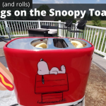 Hot Dogs (and rolls) on the Snoopy Hot Dog Toaster!! (and CONTEST!)