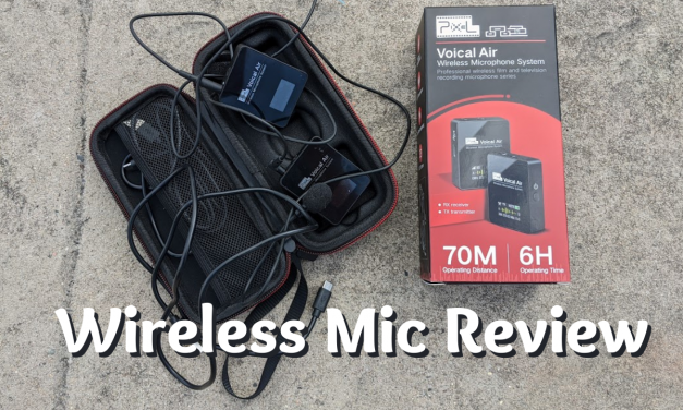 Wireless Lavalier microphone review | Pixel Voical Air