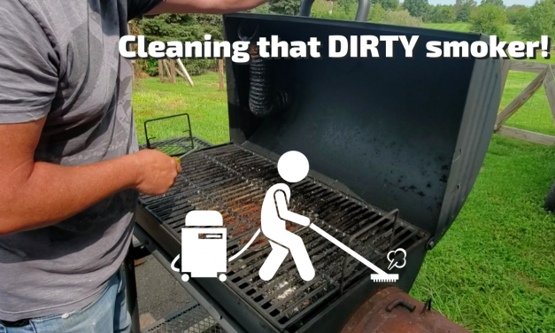 Clean that DIRTY Smoker!!