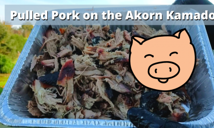 Pulled Pork on the Char-Griller Akorn | Overnight cook!