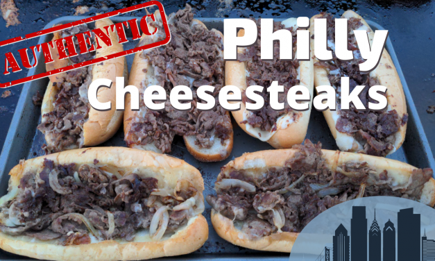 Authentic Philly Cheesesteaks on the Blackstone Griddle