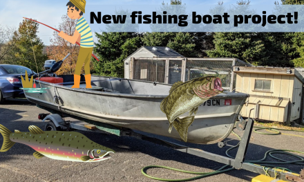 New fishing boat project!  $600 – Did I get a deal?  😀🎣