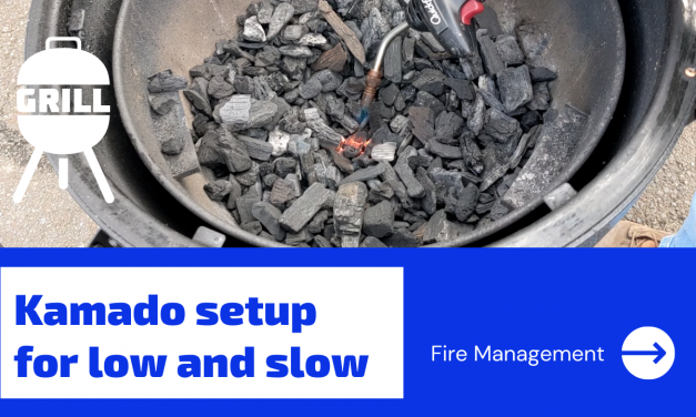 Kamado Fire Management for Low and Slow – How I do it