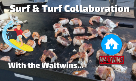 Surf & Turf Collaboration with the Waltwins